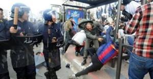 Manifestations en Algérie contre le 4 ème mandat