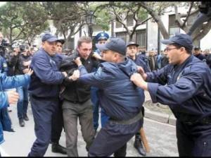 Manifestations ern Algérie contre le 4 ème mandat De Bouteflika
