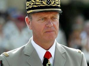 Le général français Henri Poncet