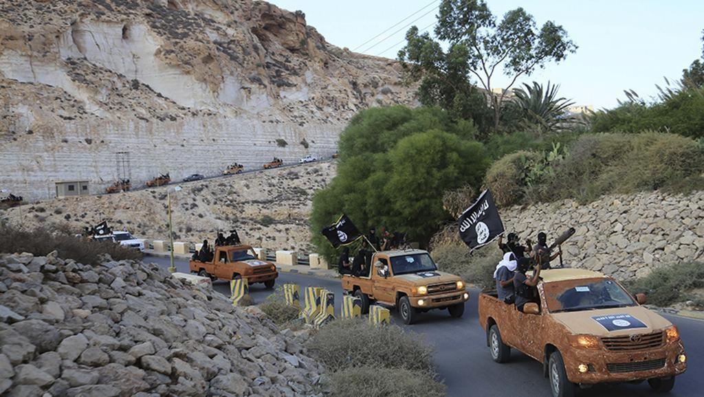 Les troupes de mercenaires daechiens en Libye