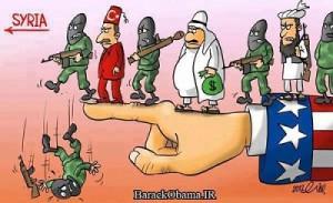 Syrie, l'invasion