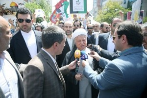 L'ancien Président Rafsanjani