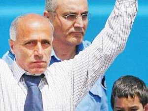 Mordechai Vanunu à sa sortie de prison en 2004
