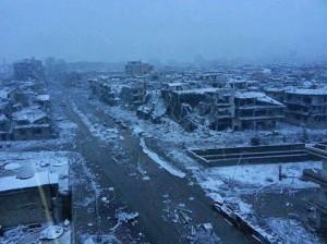 Syrie dévasté par l'ouragon terroriste