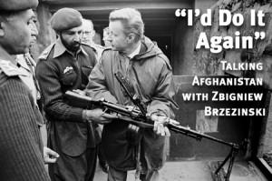 Zbigniew BRZEZINSKI Apprenant le maniement de nouvelles armes à Ben Laden
