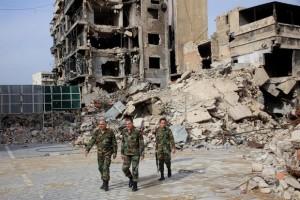 Alep détruite